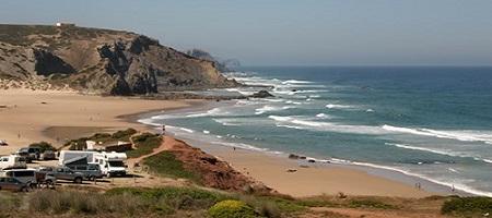 Praia do AmadoMap