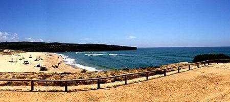 Praia da Amoreira Map